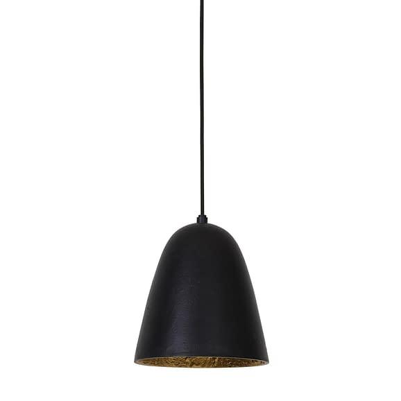 Light & Living - Hanglamp SUMERI - mat zwart-goud - 2912658