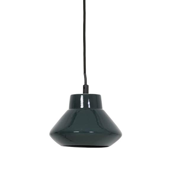 Hanglamp Ø23x19 cm SARINA keramiek glanzend donker groen