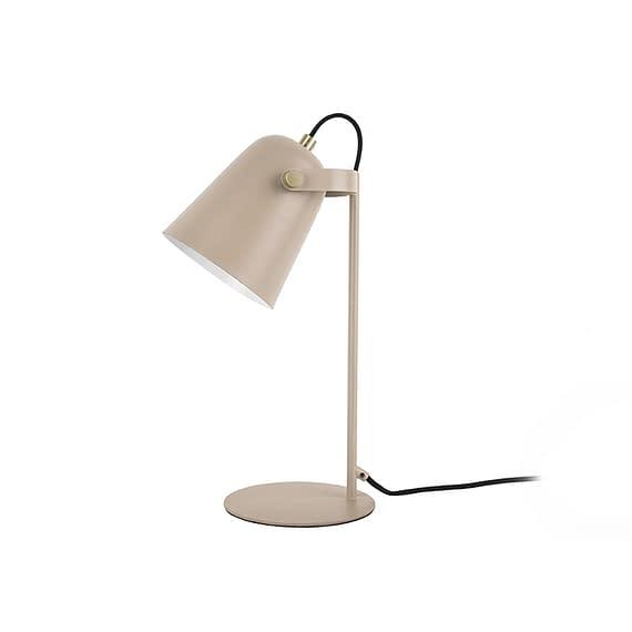 Leitmotiv - Tafellamp Steady - Metaal mat Zandbruin - 36x12