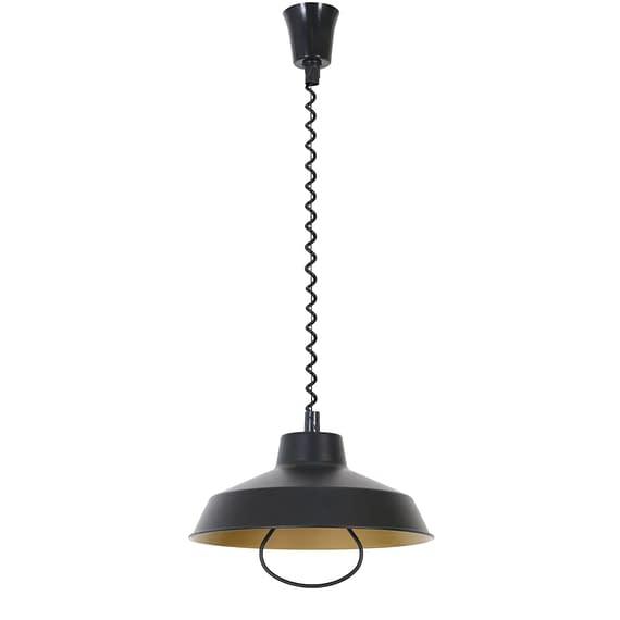 Hanglamp Mare - Zwart/Goud - Ø35x15