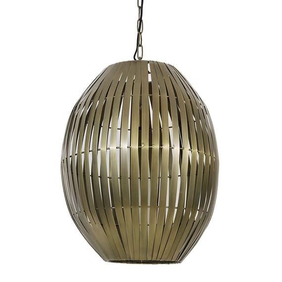 Hanglamp Ø42x57 cm KYOMI antiek brons