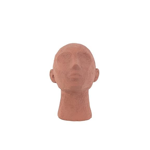 Oranje Ornament Face Art Up - Polyresin Terracotta Oranje - 18