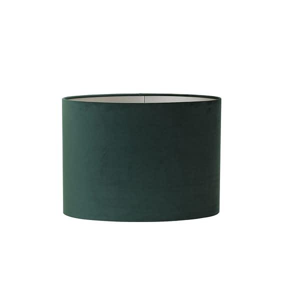 Lampenkap ovaal Velours - Dutch Green - 45-21-32 cm