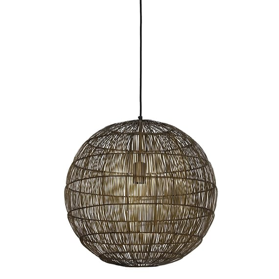 Light & Living - Hanglamp SARAH - brons - L - 2900718