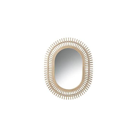 Parlane - Spiegel Batari - Rotan Naturel - 67 x 10 x 86 cm
