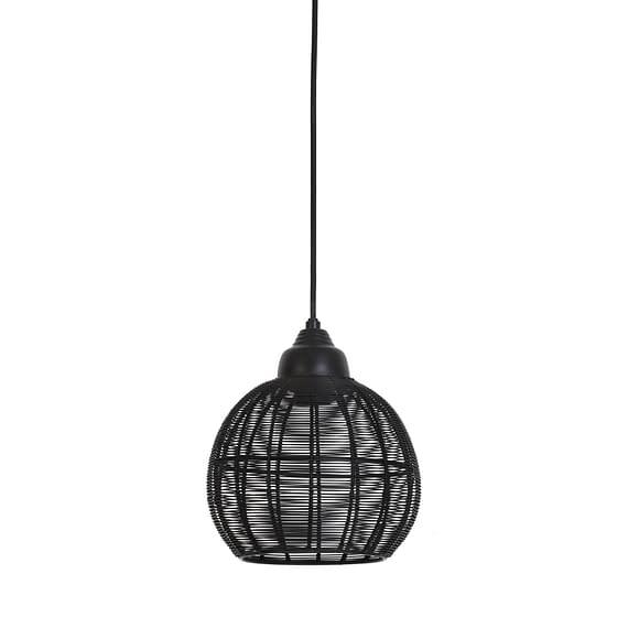 Hanglamp Milla - Zwart - Ø22