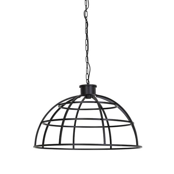 Hanglamp Ø70x46 cm IRINI mat zwart