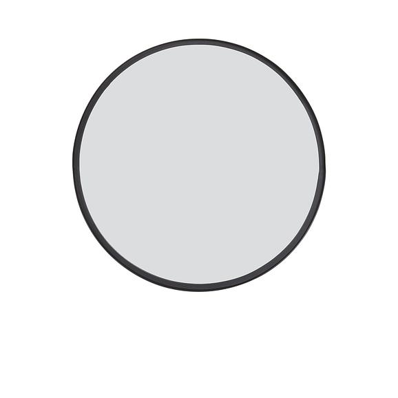 Spiegel BITA - mat zwart - L