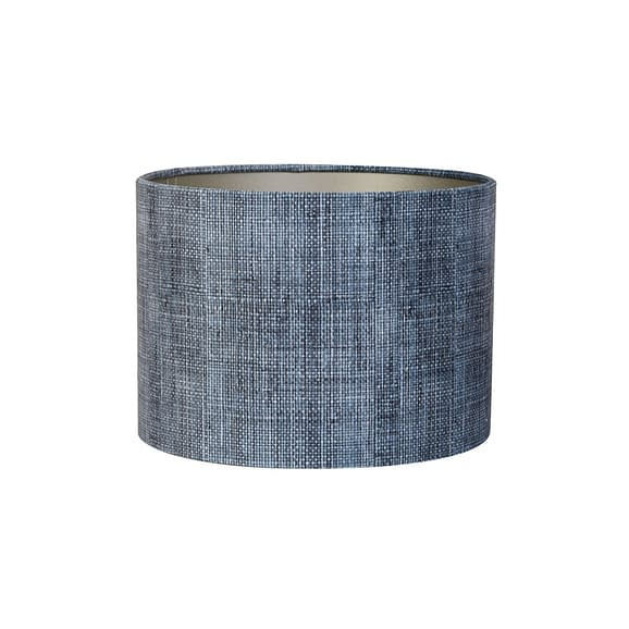 Kap cilinder 50-50-38 cm BARK blauw