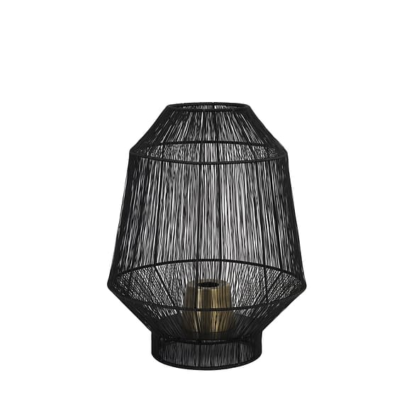 Tafellamp Ø30x38 cm VITORA mat zwart