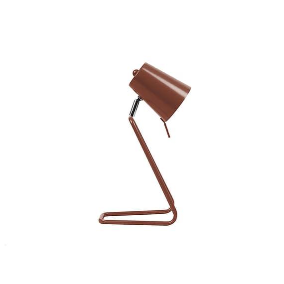 Rood Tafellamp Z - Metal Warm Rood - 35x16cm
