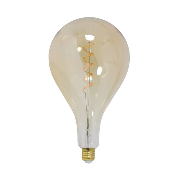 Deco LED peer Ø16x32 cm LIGHT 4W amber E27 dimbaar