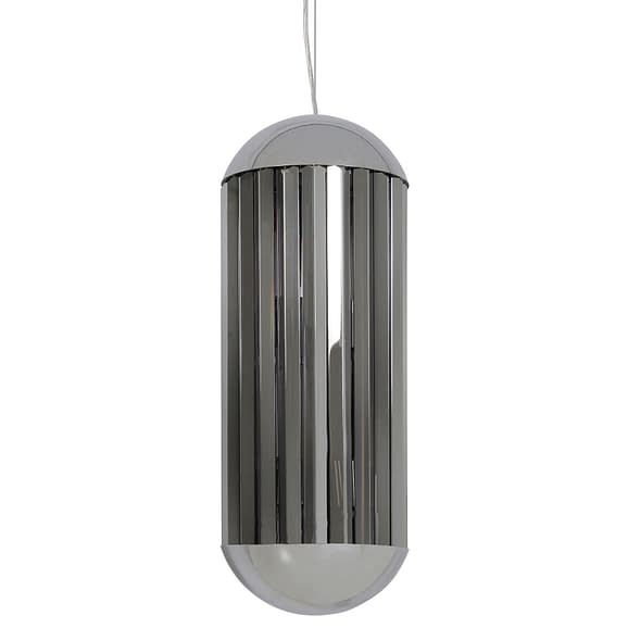 Light & Living Hanglamp Grayson - Smoke/Chroom - 6L