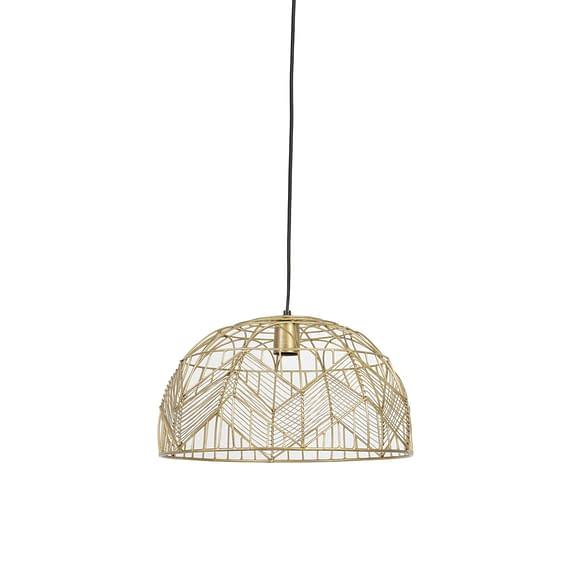 Hanglamp Ø40x25 cm KALIBO goud