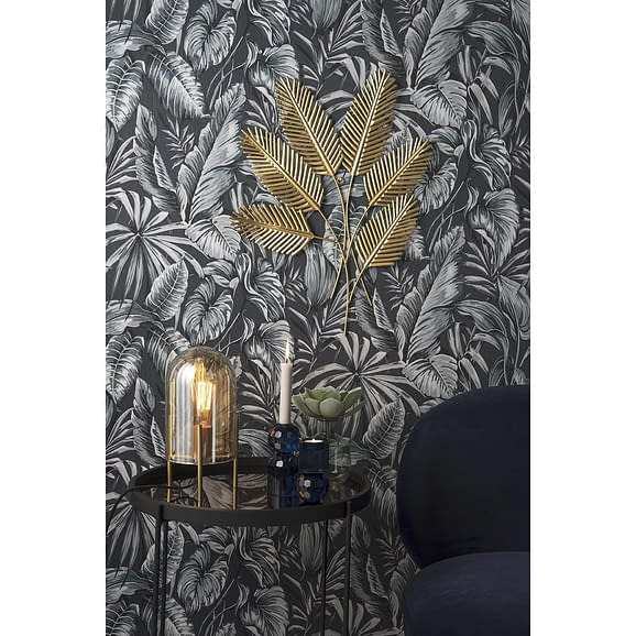 - Wall art Beech Leaves metal