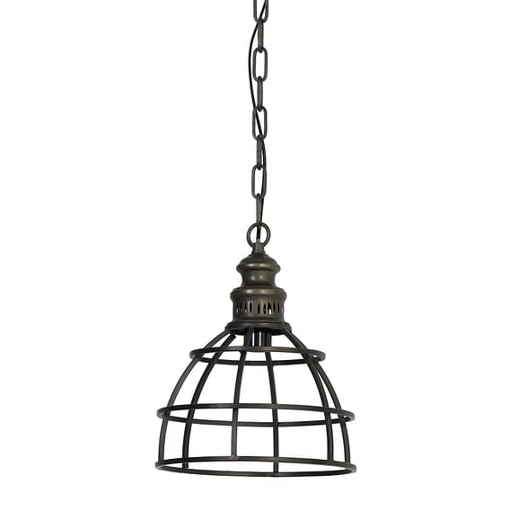 Light & Living - Hanglamp PAIGE - donker brons - 2911418
