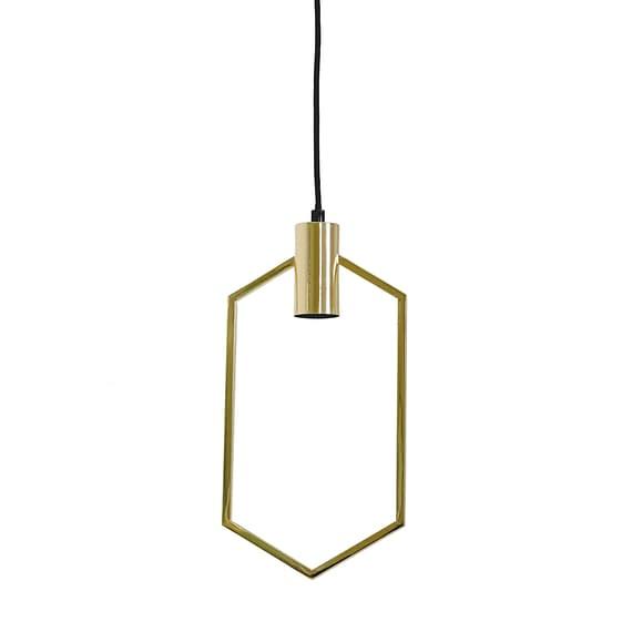 Hanglamp 20x40 cm AINA goud