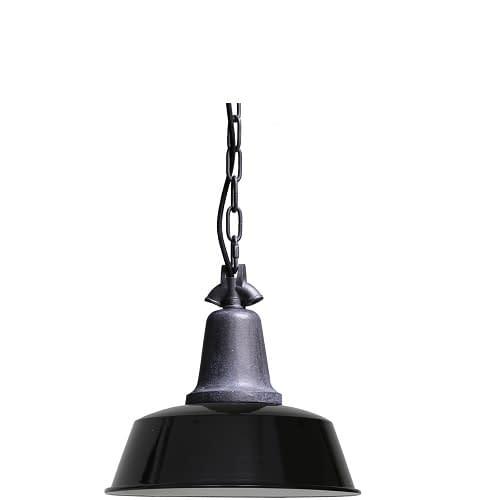 zwarte industriële hanglamp -1000110