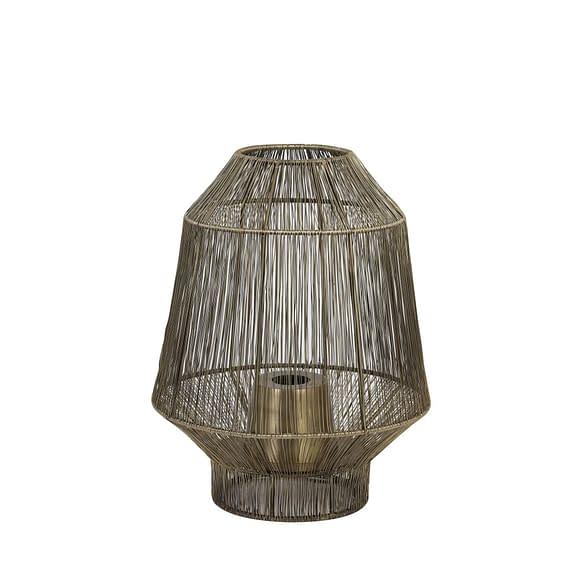 Tafellamp Vitora - Antiek Brons - Ø30x38 cm