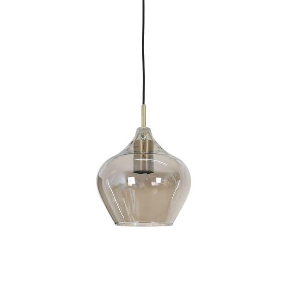 Hanglamp Rakel - Antiek Brons/Smoke - Ø20x21