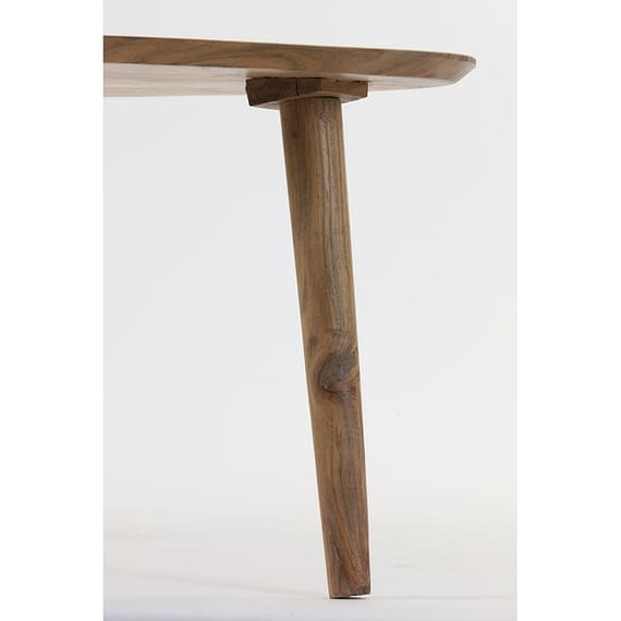 Light & Living - Salontafel Chevano - Hout Naturel - 80x50x35 cm