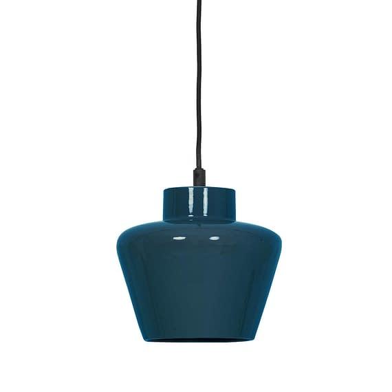 Light & Living Hanglamp Souma - Keramiek Blauw - Ø24x26 cm