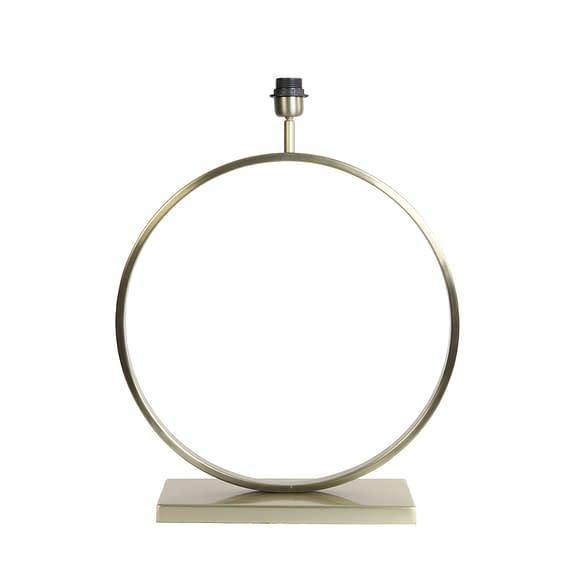 Lampvoet Liva - Licht Goud - 50x15x57 cm