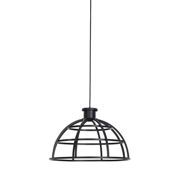 Hanglamp Ø50x32 cm IRINI mat zwart