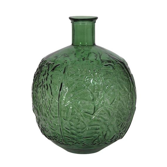 Vaas Ø32x43 cm MENADO glas groen