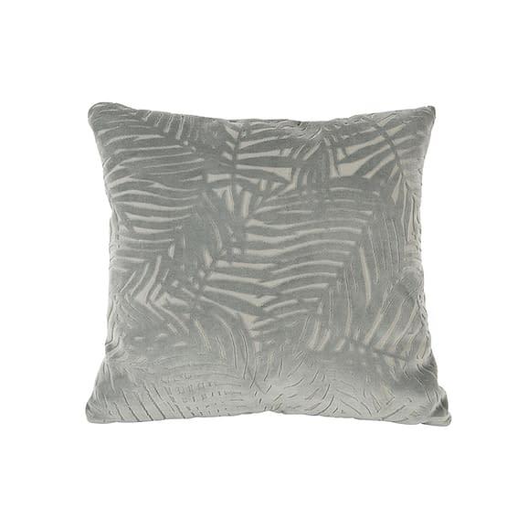 Groen Kussen Palm Leaves - Velvet Groen - 45x45cm
