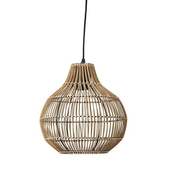 Hanglamp Pacino - Rotan Donkerbruin - Ø30x31