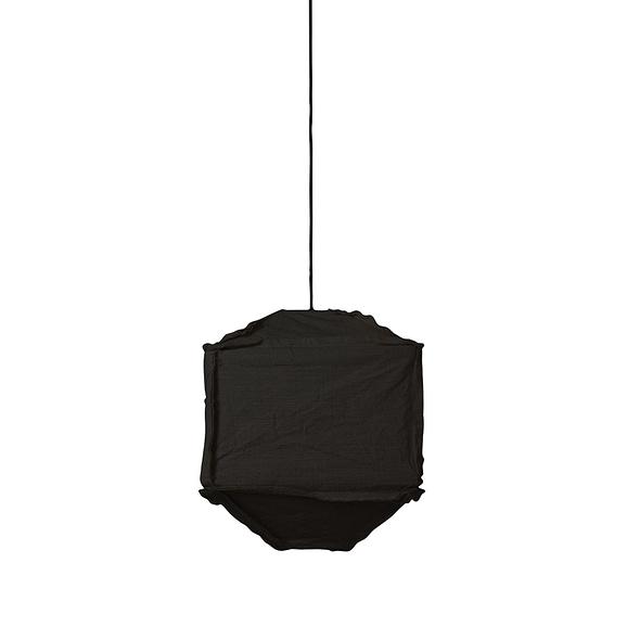 Light & Living Hanglamp Titan - Zwart - 40x40x50 cm