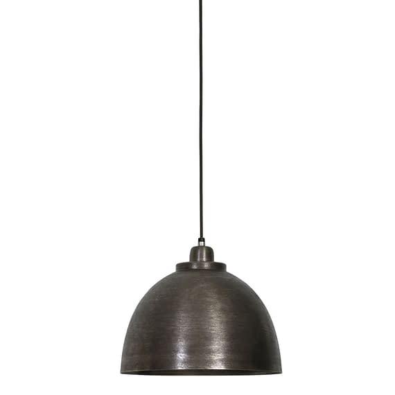 Hanglamp KYLIE - donker ruw nikkel - M