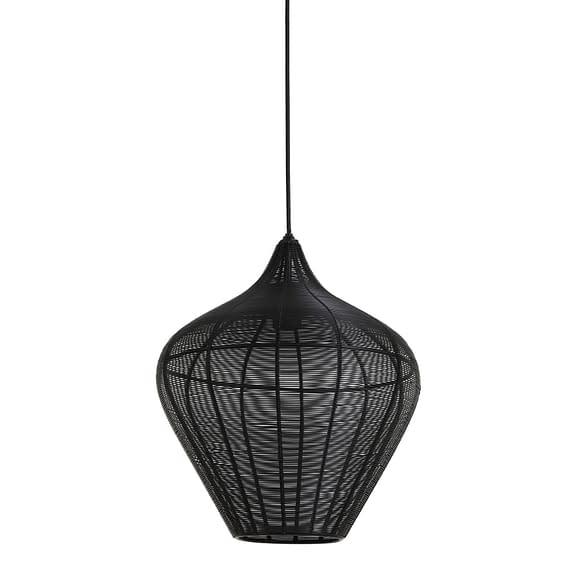 Hanglamp Alvaro - Zwart - Ø36x40 cm