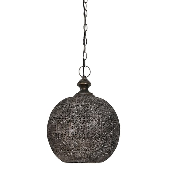 Hanglamp ANANYA - Bruin Goud - L