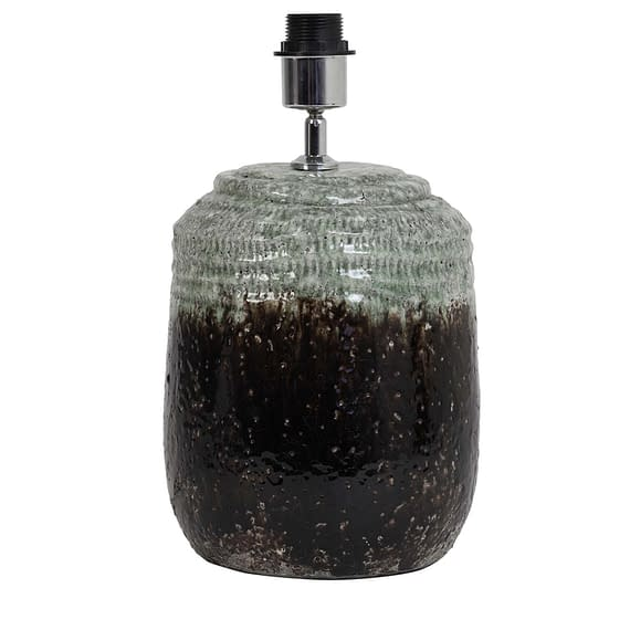 Lampvoet Ø22x38 cm STERRE keramiek donker grijs
