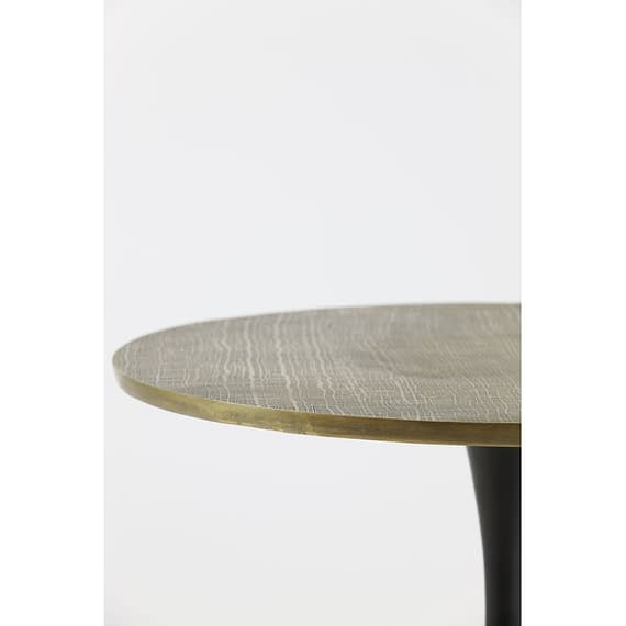 Light & Living - Ronde Bijzettafel Rickerd - Antiek Brons - Ø61x41 cm
