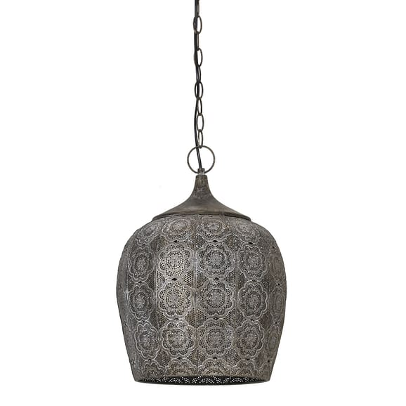 Hanglamp KADIRI - bruin goud - M