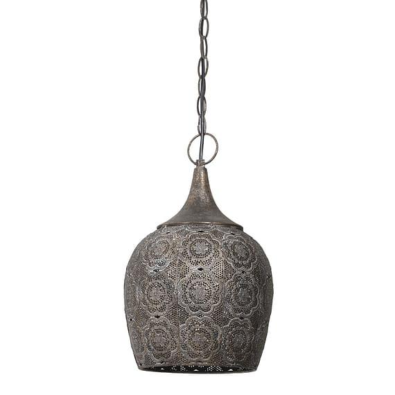 Light & Living - Hanglamp KADIRI - bruin goud - S - 3097956