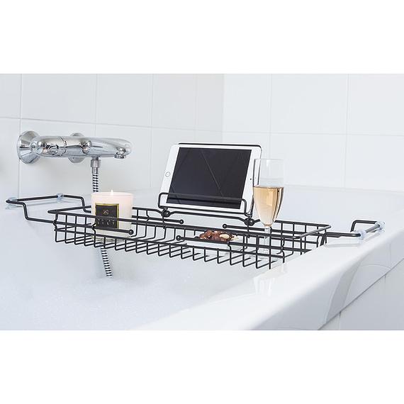 - Bath tub caddy iron black
