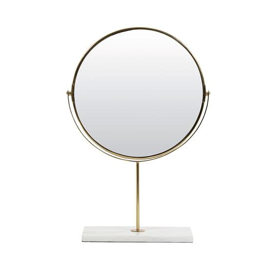 Spiegel op voet 33x12