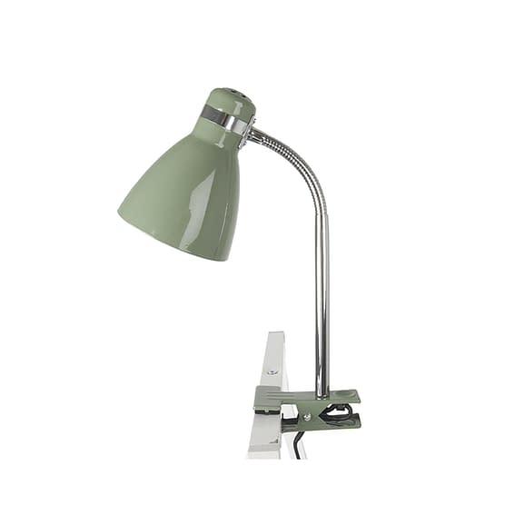 Groen Clip on lamp Study - Metaal Jungle Groen - 34x11