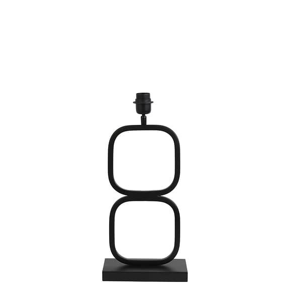 Lampvoet Lutika - Zwart - 23x11