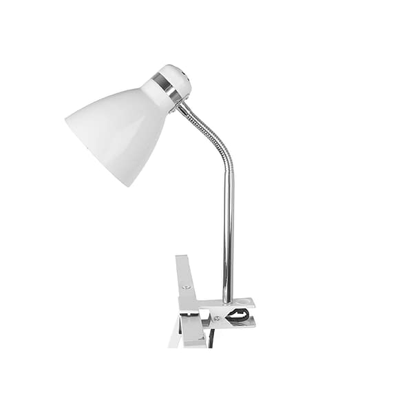 Wit Clip on lamp Study - Metaal Wit - 34x11